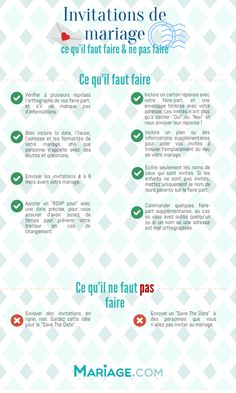 guide invitations infographie