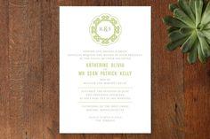 Wedding Invitations  |  Modern Celtic Knot Wedding Invitations  -  Celtic Wedding Stationery