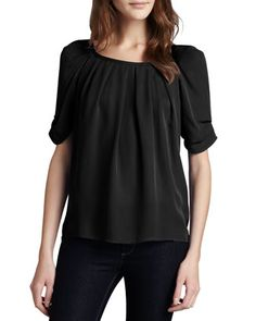 Eleanor+Silk+Blouse+by+Joie+at+Neiman+Marcus.