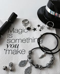 Magic is something you make #PANDORAloves New Year's eve and inspirational quotes #NYE