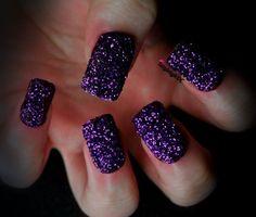 Purple Glitter by KayleighOC.deviantart.com