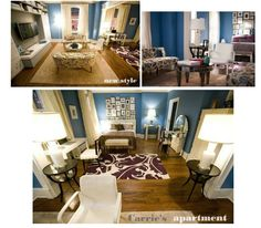 """carrie bradshaw's apartment """"the movie2"""""""