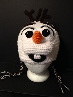 Need to learn how to make this before Halloween so Baby E can be Olaf. :D