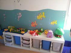 1000 images about enfant rangements on pinterest bed for Rangement jouet chambre enfant