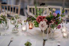 sweet floral centerpiece Floral Wedding Decorations, Floral Centerpieces, Flower Decorations, Wedding Flowers, Reception Table, Wedding Table, Wedding Goals, Wedding Day, Wedding Dress