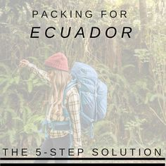Here's how to pack for #Ecuador...in 5 steps: http://www.eaglecreek.com/blog/what-pack-ecuador-5-step-solution #LatinAmerica #organizedtravel