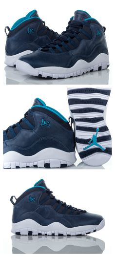 pretty nice 823e4 159dd Look fly with this shoe inspired by the City of Angels. Get the Jordan  Retro 10  LA  now.