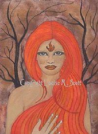 brigit goddess | Brigit's Sparkling Flame: June 2008