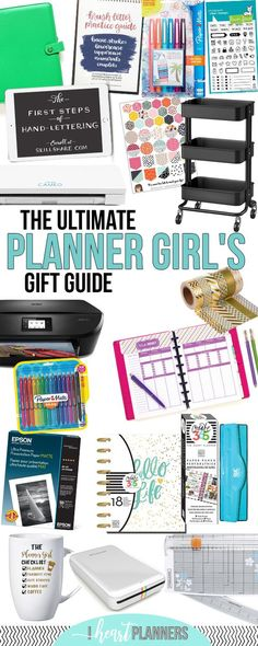 Ultimate Planner Girl Gift Guide | Gift Ideas for Planner Junkies