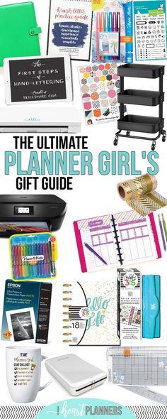 Ultimate Planner Girl Gift Guide | Gift Ideas for Planner Junkies