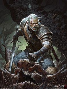 The Witcher 3 - Wild Hunt by DavidRapozaArt on DeviantArt
