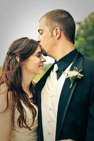 forehead kiss photo