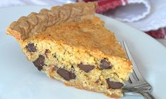 Oatmeal Chocolate Chip Cookie 'Crack' Pie