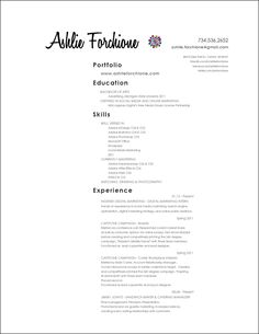 Skills Section On Resume Amusing Cover Letter Love The Lay Out Of This  Things I Like  Pinterest 2018