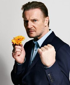 Liam Neeson -Love him in the Taken movies and pretty much anything esle he is in!  Another plus: He's Irish!