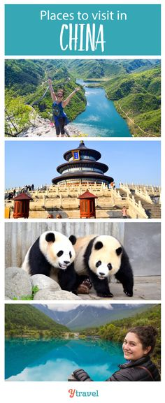 2 Week China Itinerary. Tips on the best places to visit in China, plus info on tours and accommodation. #China #travel