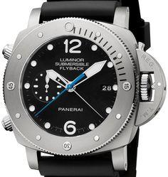 Panerai Luminor-Submersible-1950 3 Days-Chrono Flyback-Automatic Titanio