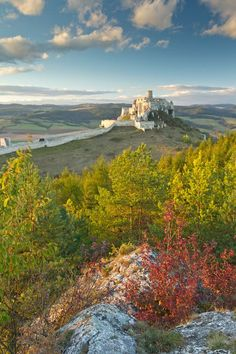 Spis Castle, Slovakia The ruins of Spiš Castle in eastern Slovakia form one of the largest castle sites in Central Europe. The castle is s. Places Around The World, Oh The Places You'll Go, Places To Travel, Places To Visit, Around The Worlds, Travel Destinations, Bratislava, Belle Image Nature, Beautiful World