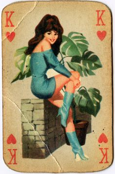 monogram | K : King of Hearts playing card