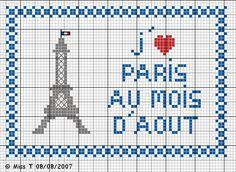 love Paris Eiffel tower