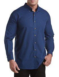 Harbor Bay® Easy-Care Gingham Sport Shirt
