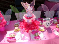 mesa de fiesta infantil | ... de mesa que hice para la fiesta de la hija de mi amiga , espero les