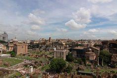 Forum Romanum - Aussicht Palatin