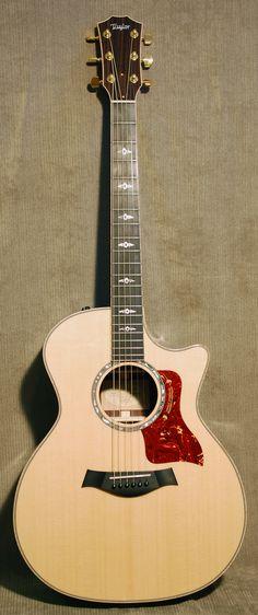 Taylor (My Guitar) Jazz Guitar, Music Guitar, Cool Guitar, Playing Guitar, Taylor 814ce, Taylor Guitars, Guitar Photography, Home Studio Music, Beautiful Guitars