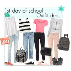 High School Outfit Ideas | fashion look from July 2013 featuring Organic by John Patrick tops ...