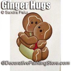 Ginger Hugs ePattern - Sandra Paku - PDF DOWNLOAD