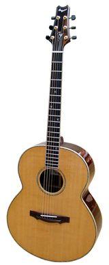 Guitare Jumbo - Guitare Quéguiner Acoustique acier