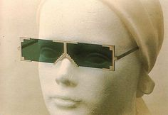 Hans Hollein, Colored Glasses for AOC, 1973