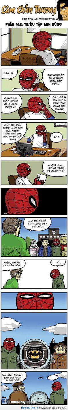 Triệu tập các siêu anh hùng