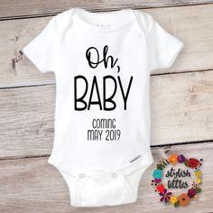 Cute Baby Onesie Pregnancy Photo Prop Gender Reveal Baby Shower Gift IVF Onesie Wild Like My Curls Girl/'s Onesie Funny Baby Onesie