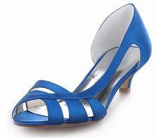 Womens Toni Vargas™ Handmade Satin Heels ( 10 Colours )