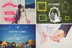 Wedding Photo Overlays for Professional Wedding and Portrait Photographers | Design Aglow