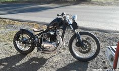 Casey Aguilar has been riding this stunning xs 650 bobber bike for 9 years