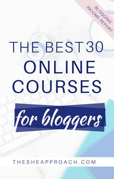 No matter what stage you're at in your blogging journey there is always something new to learn.   If you want to make progress as a blogger you need to read this post - I will present you the best 30 Online Courses that every blogger should take!  #bloggingtips #onlinecourses #makemoneyblogging Make Money Blogging, Blogging Ideas, Earn Money, Start A Business From Home, Best Online Courses, Business Tips, Creative Business, Online Business, Blog Planner