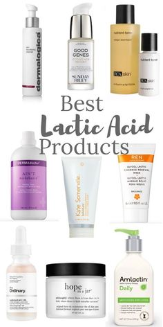 Lactic acid is the second most studied Alpha Hydroxy Acid. Though understated, the benefits of Lactic acid in skincare are numerous. #lacticacid #chemicalexfoliation #skincare Best Skincare Products, Face Products, Beauty Products, The Ordinary Lactic Acid, Pca Skin, Skin Resurfacing, Good Genes, Skin Toner, Alpha Hydroxy Acid