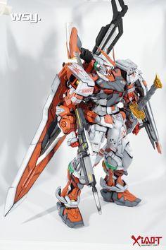 PG Gundam Red Frame Astray - Customized Build Modeled by Gundam Exia, Gundam Astray, Gundam Toys, Gundam Art, Astray Red Frame, Armored Core, Gundam Wallpapers, Man Of War, Robot Concept Art