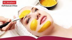 ‪#‎GetParlourLookAtHome‬ Face pack for quick fairness easily at home can be prepared by the following ingredients. Besan known as gram flour,Turmeric,Honey,Lemon juice. Preparation: In a small bowl or a dish, take 2 teaspoonful of besan, one teaspoonful of honey, ¼ teaspoonful of turmeric powder and ½ teaspoonful of lemon juice. Take out the seeds from the lemon juice.