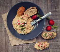 Fazuľová nátierka so syrom Risotto, Meat, Chicken, Ethnic Recipes, Food, Essen, Meals, Yemek, Eten