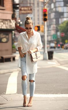 September Outfit Idea by Brooklyn Blonde Daily Fashion, Fashion Photo, September Outfits, Brooklyn Blonde, My Outfit, Outfit Ideas, Spring Summer Fashion, Street Style, Style Inspiration