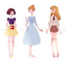 Dorkasaurus — punziella: ♡ casual princesses and a queen ♡ I'll...