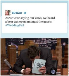 This #WeddingFail: