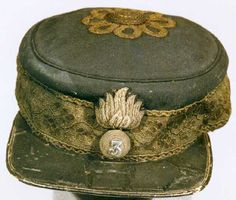Officer's Undress Forage Cap, 1st South Durham Fusiliers Militia, 1868