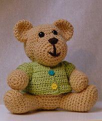 Ravelry: Teddy Bear FREE Pattern pattern by Bailee L. Wellisch