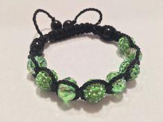 A personal favorite from my Etsy shop https://www.etsy.com/listing/271390678/st-patricks-inspired-shamballa-bracelet