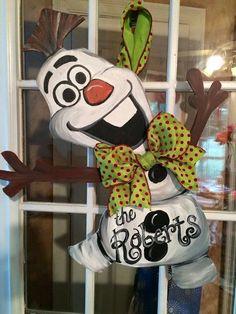 Olaf door hanger!
