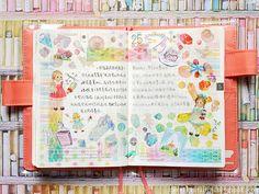 Ui Palette, 2017 Planner, Hobonichi, Neutral Colors, Color Pop, Journal, Colour Pop